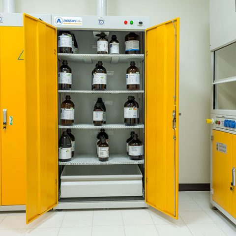 Technical information of material storage cabinet