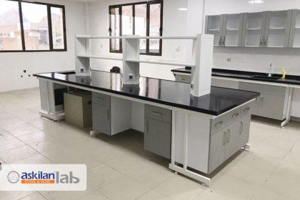 Construction and installation of laboratory equipment for Razi University of Kermanshah