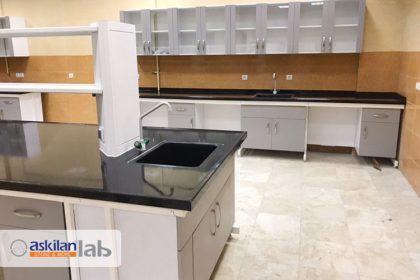 Construction and installation of laboratory equipment for Kermanshah University of Veterinary Medicine