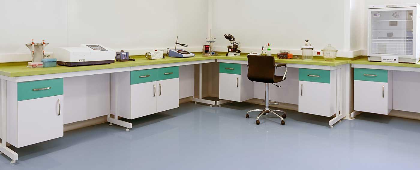 سکوبندی آزمایشگاه با استراکچر C-frame