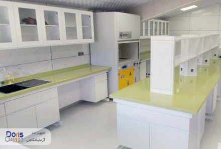 سکوبندی و تجهیز آزمایشگاه صنایع غذایی ماستر فوده