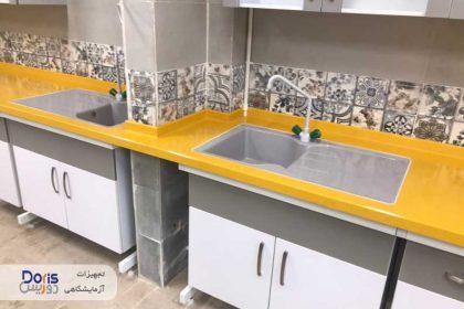 سکوبندی و تجهیز آزمایشگاه آقای عبدالحسینی