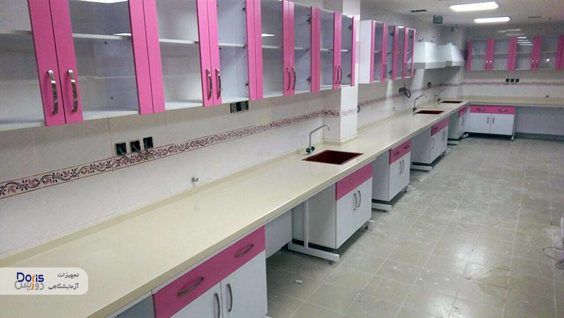 سکوبندی آزمایشگاه بیمارستان نفت