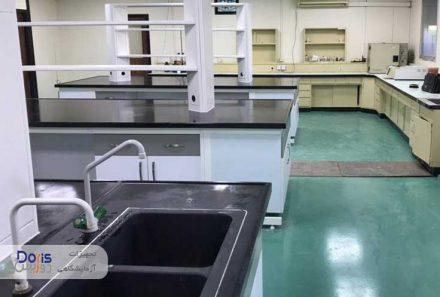 ساخت سکوبندی آزمایشگاه پتروشیمی ماهشهر