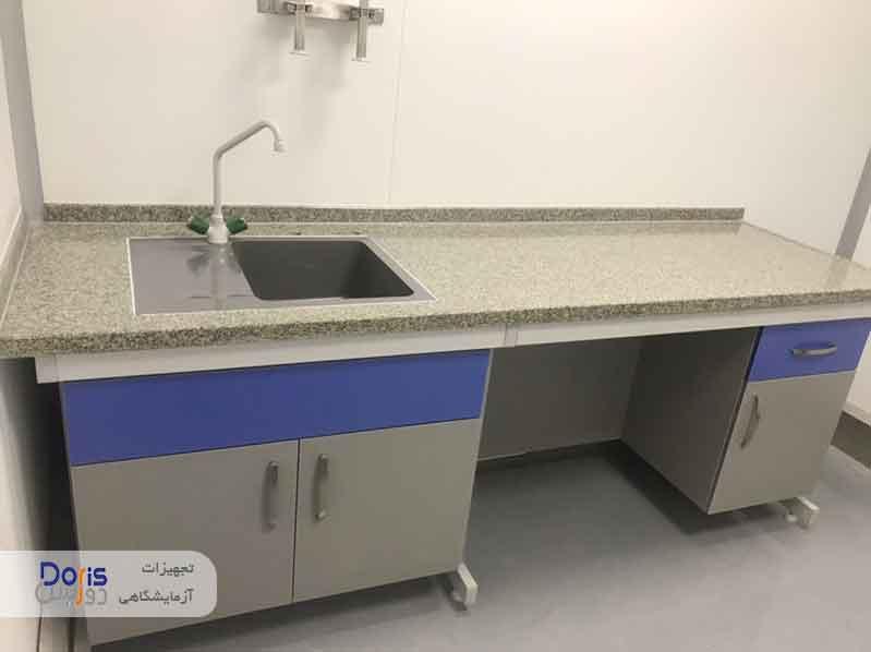 پروژه سکوبندی آزمایشگاه داروسازی عبیدی ۱