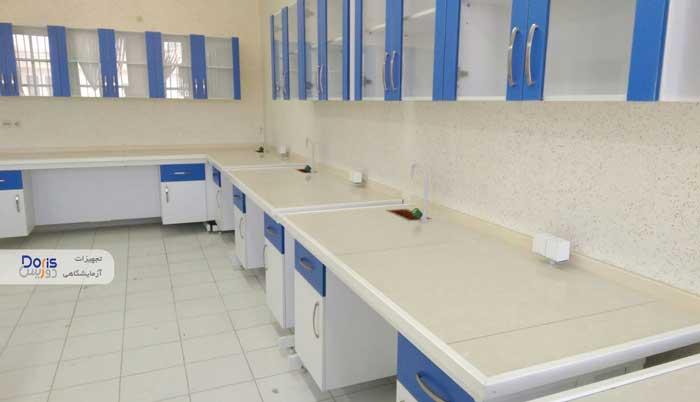 سکوبندی و تجهیز آزمایشگاه پارک علم و فناوری فارس