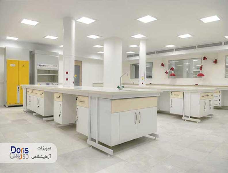 سکوبندی آزمایشگاه  داروسازی تهران شیمی