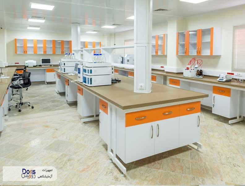 سکوبندی و تجهیز آزمایشگاه داروسازی آنی درمان کیمیا