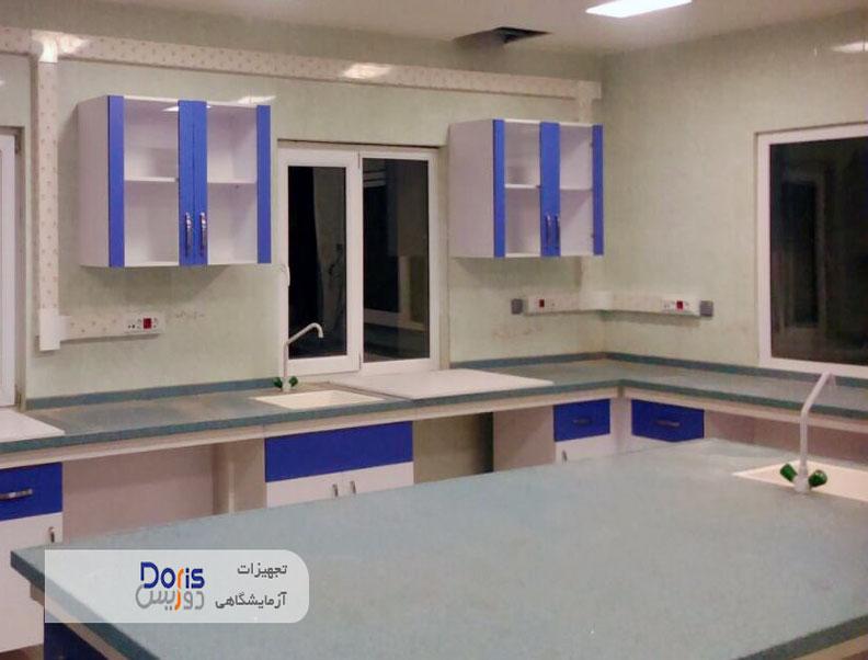 تجهیز و راه اندازی آزمایشگاه بیمارستان پارس آباد