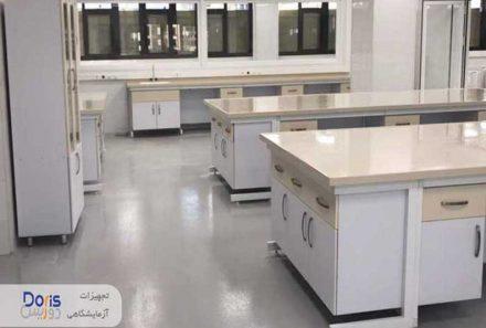 سکوبندی آزمایشگاه شرکت پشتیبانی ایثار
