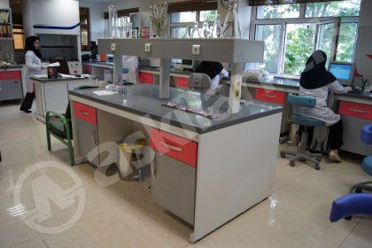 سکوبندی آزمایشگاه بیمارستان نفت تهران